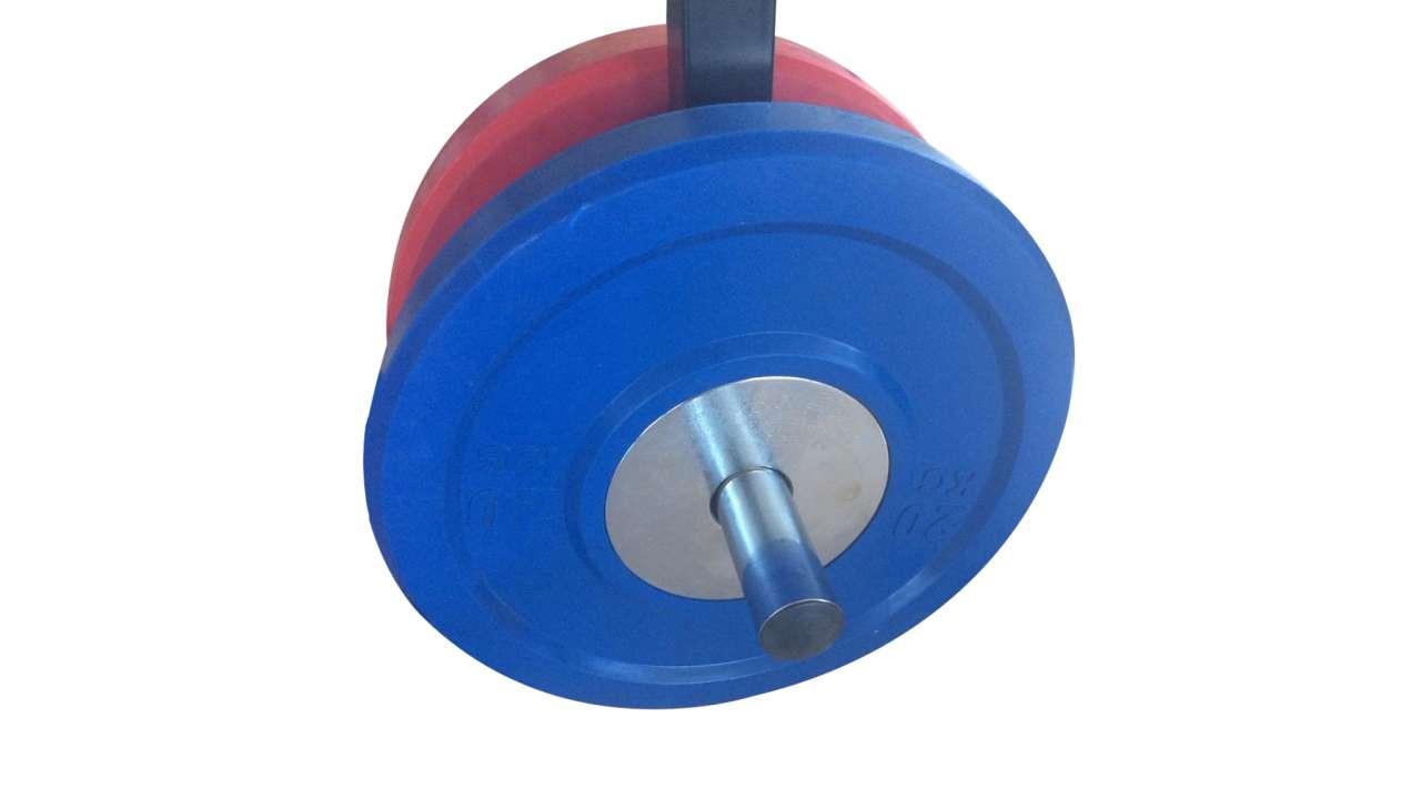 Bumper 10kg olimpijska ploča
