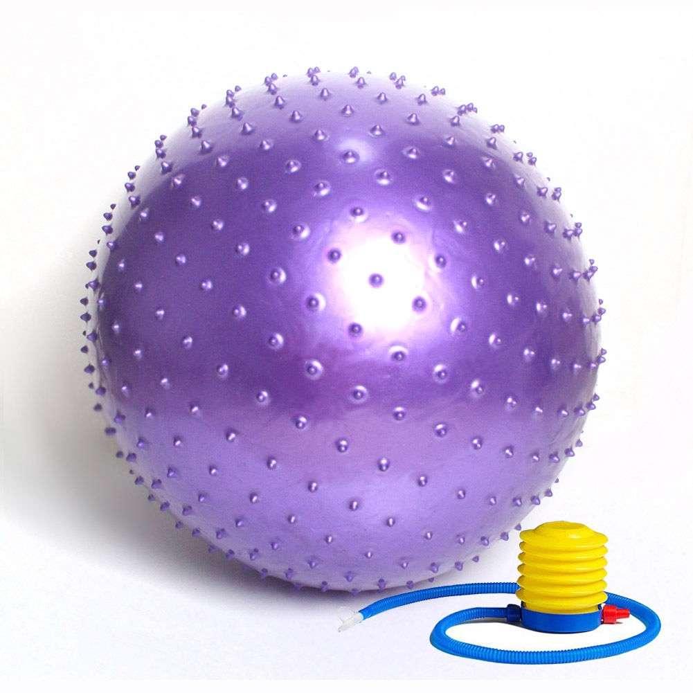 Pilates lopta gimnastička masažna 65cm