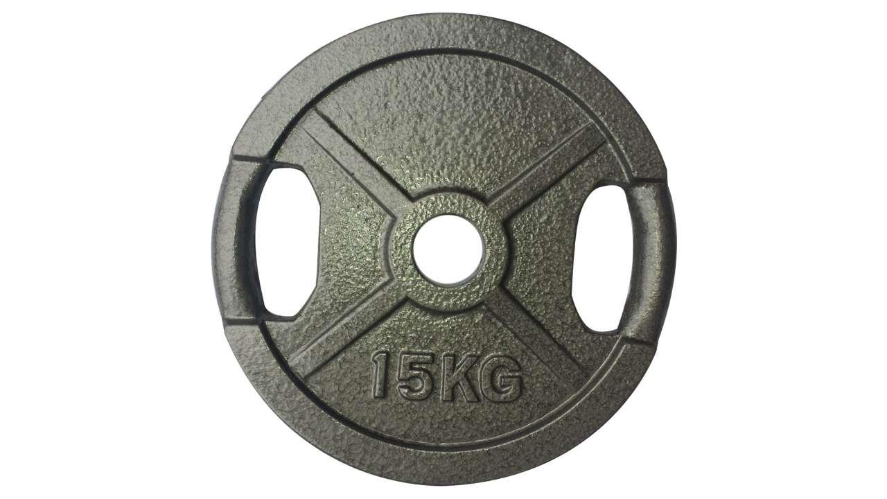Teg 15kg sivi olimpijski 51mm