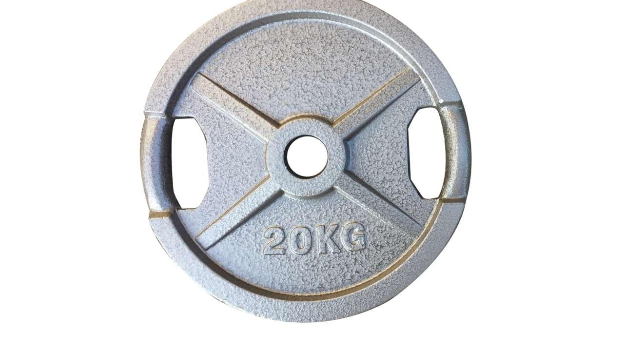 Teg 20kg sivi olimpijski 51mm