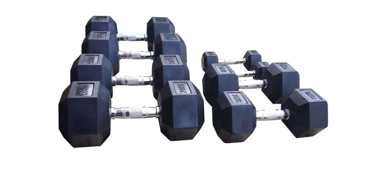 Set heksa bučica 2,5kg - 40kg - hexa