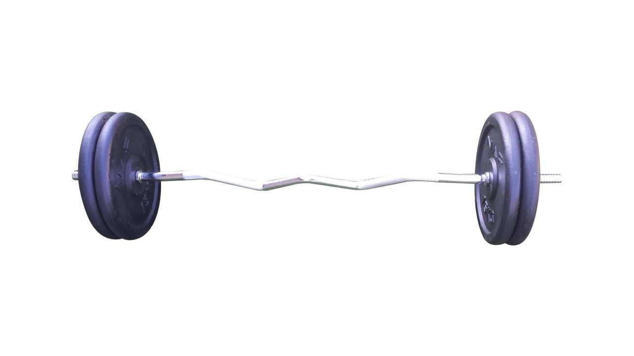 EZ šipka i 60kg (4x15kg)
