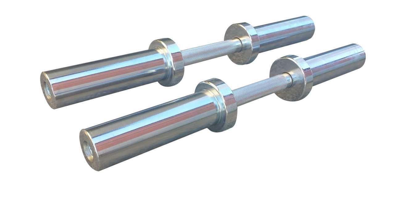 2 olimpijske šipke za bučice 50mm