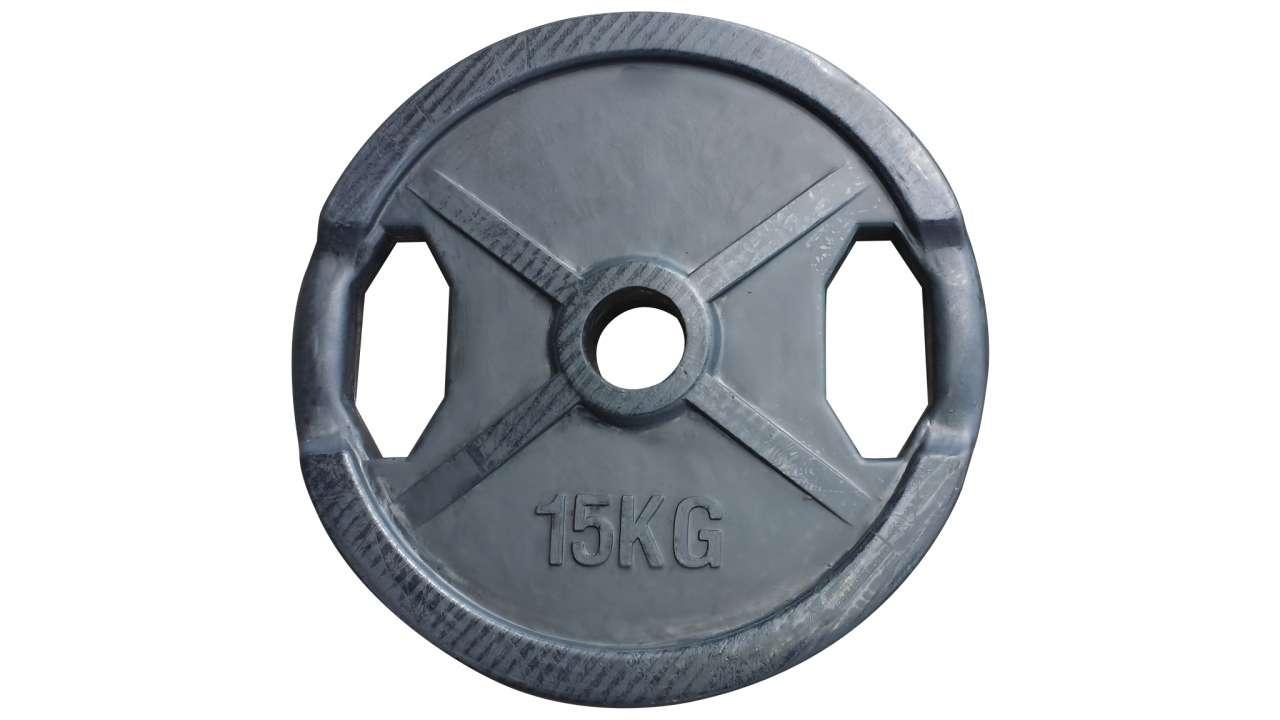 Teg 15kg olimpijski gumirani 51mm