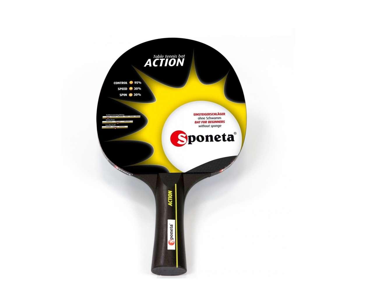 Reket za stoni tenis Sponeta ACTION