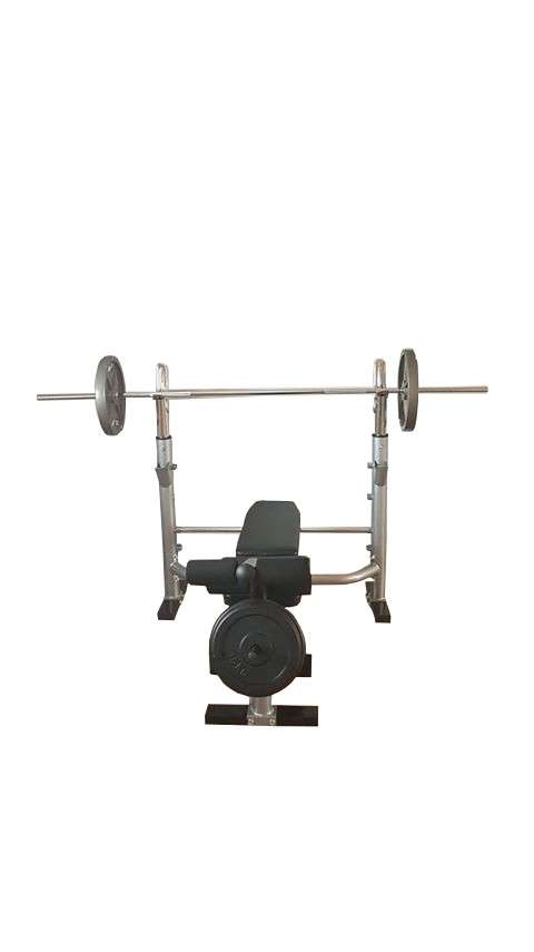 Bench klupa sa dodacima za biceps i noge