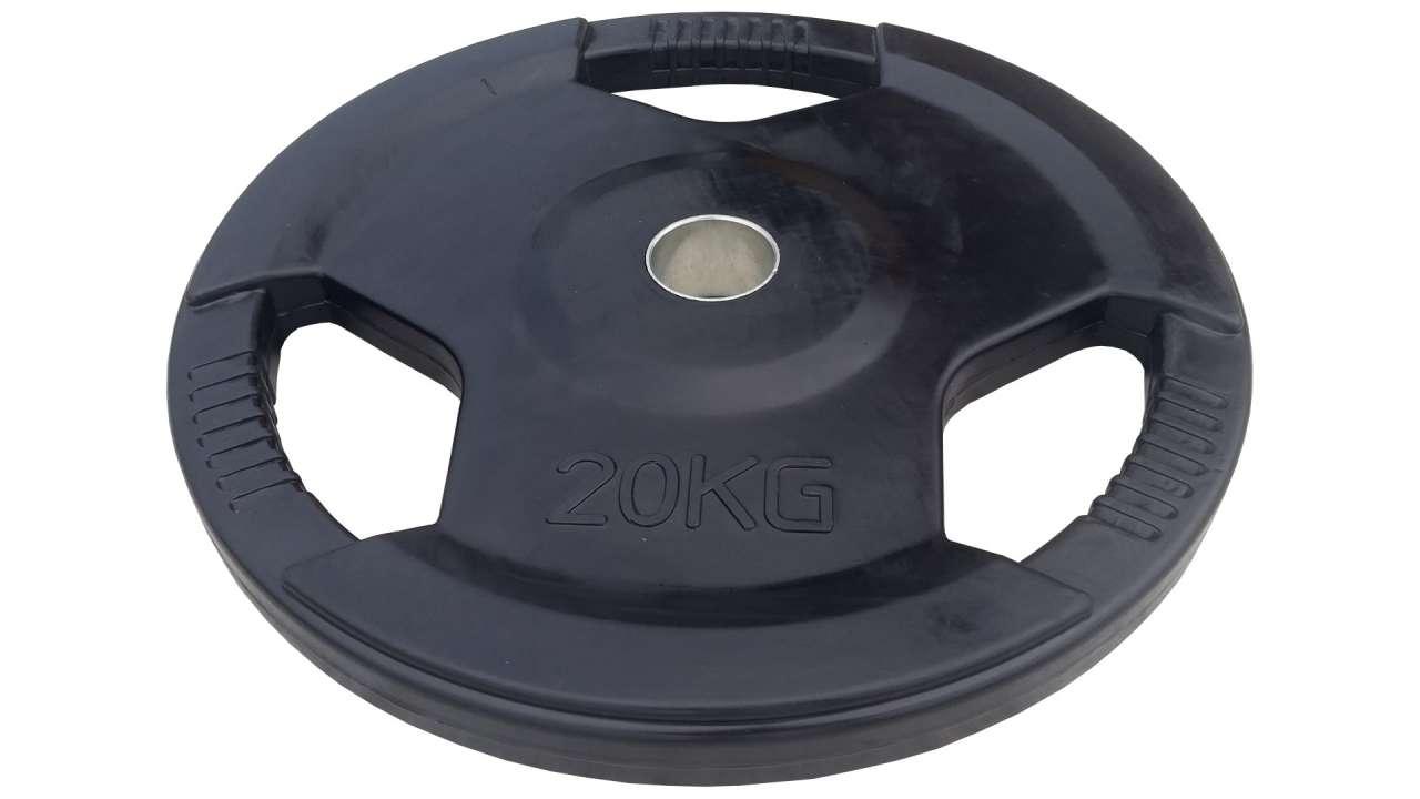 Olimpijski gumirani teg sa prstenom 20kg