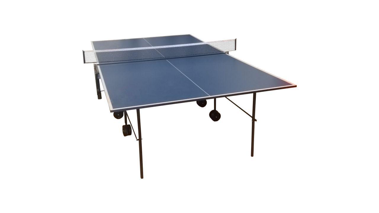 Stol za stoni tenis, 2 reketa i 12 loptica