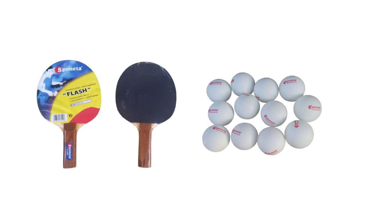 Reketi i loptice 12 komada Sponeta set