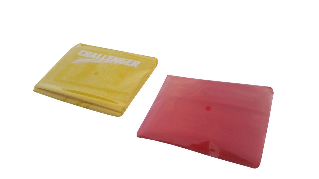 Otvorena pilates traka žuta