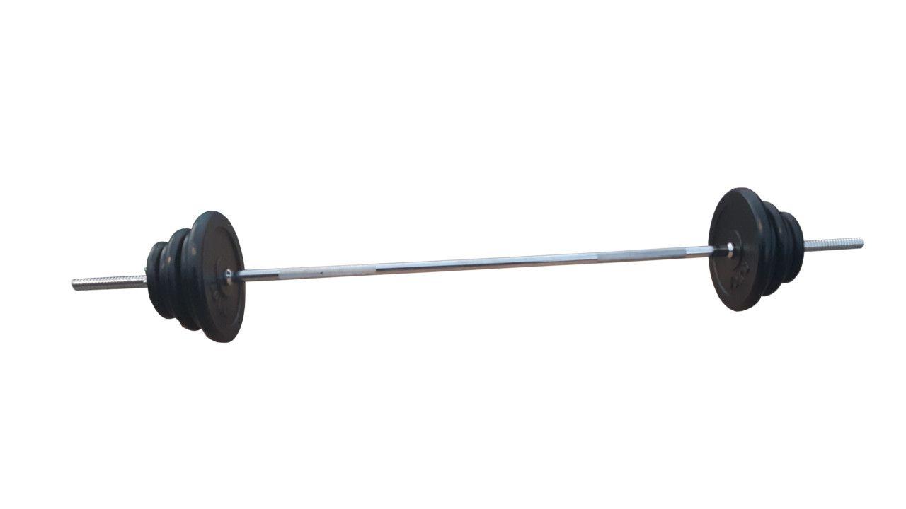 Ravna šipka 168cm i 50kg tegova