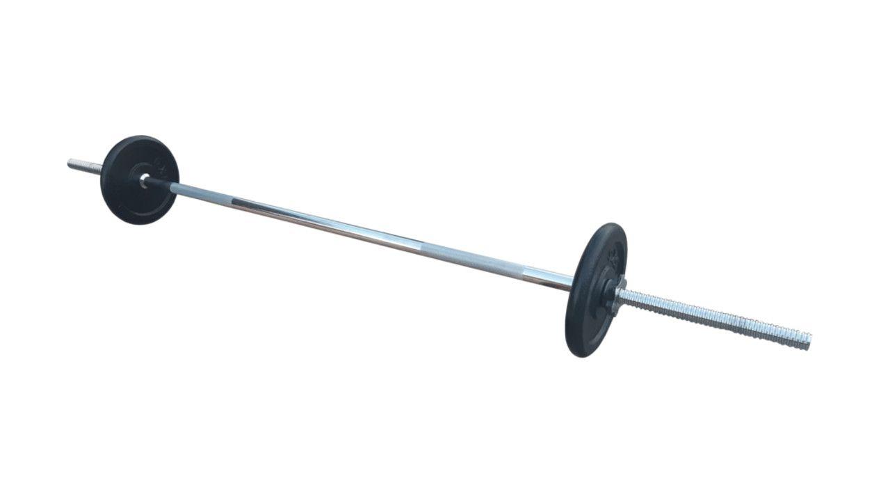 Ravna šipka 168cm i 10kg tegova