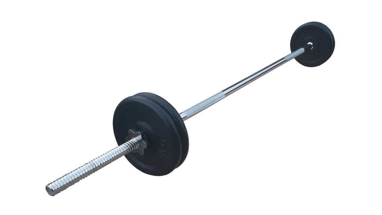 Ravna šipka 168cm i 20kg tegova