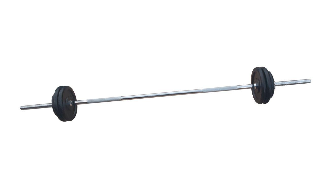 Ravna šipka 168cm i 25kg tegova