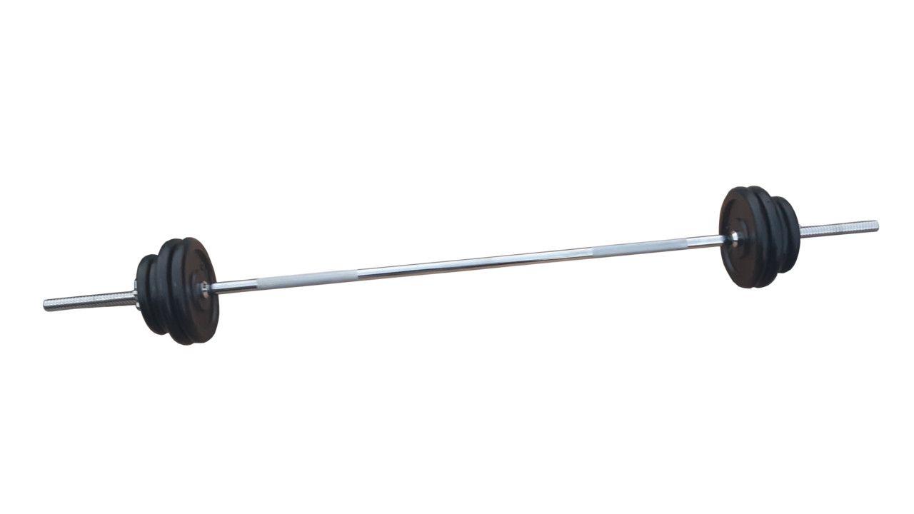 Ravna šipka 168cm i 30kg tegova