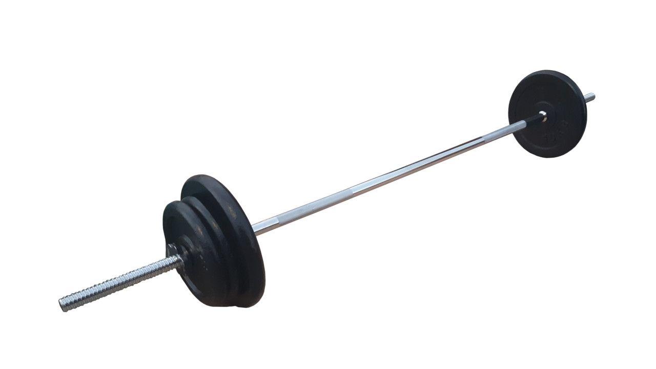 Ravna šipka 168cm i 40kg tegova