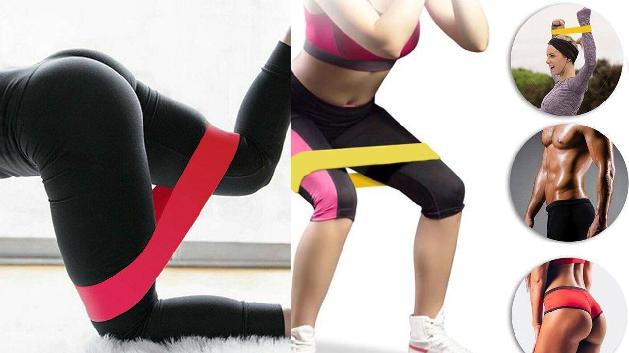 Rastezljive pilates trake (5 komada set)