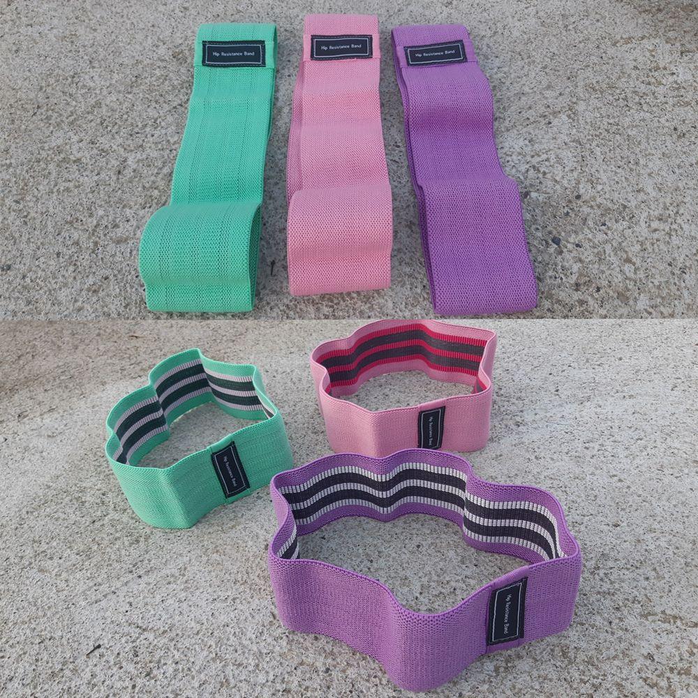 Platnene elastične trake 3 u setu