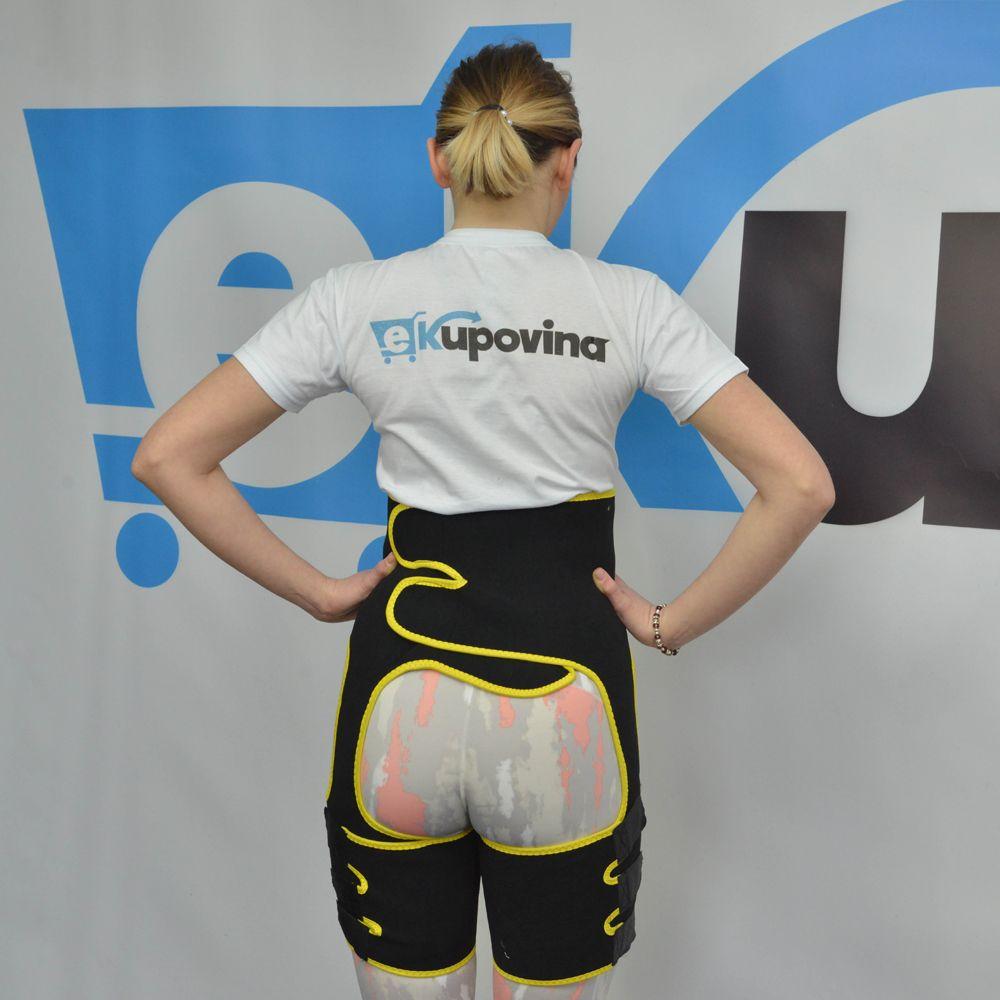 Jednodijelni pojas za mršavljenje za stomak i butine