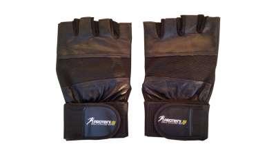 Bodybuilding rukavice sa steznikom za zglob