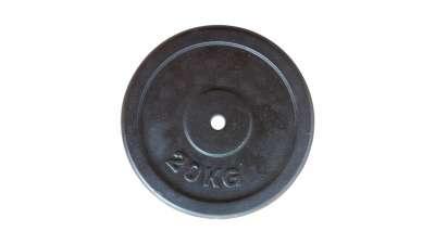 Teg 20kg metalni crni 26.50mm