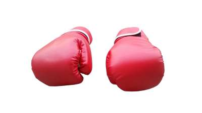 Rukavice za boks crvene
