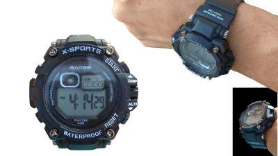 Sportski sat s štopericom